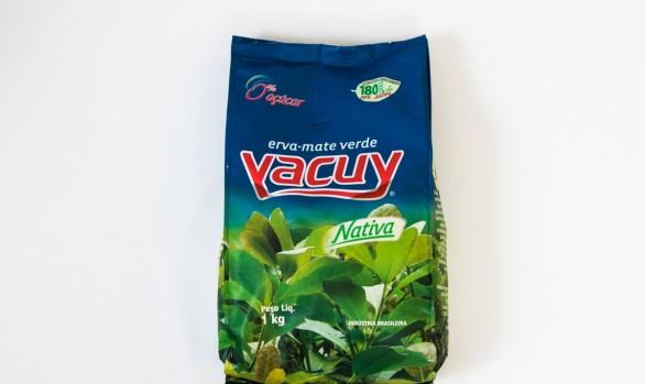Erva-Mate Verde Vacuy 1KG