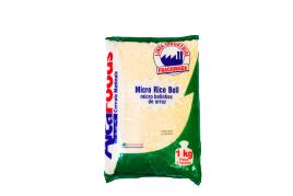 micro bolinhas de arroz natural brasil